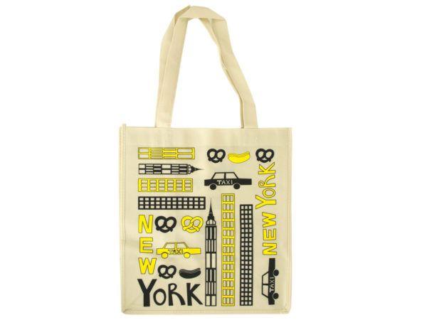 72 Units of New York Multi-Purpose Tote Bag - Tote Bags & Slings