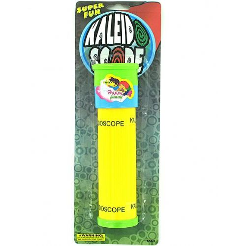 108 Units of Colorful toy kaleidoscope