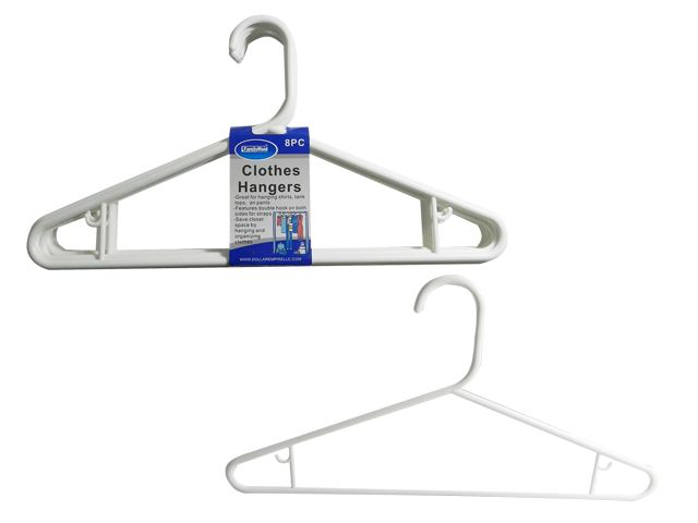 48 Units of 8pc Adult Clothes Hangers - KITCHEN GADGETS