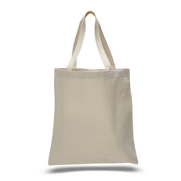 144 Units of 12 Ounce Tote Bag- Natural - Tote Bags & Slings