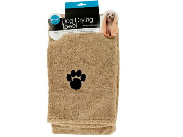 12 Units of Large Super Absorbent Dog Drying Towel - Pet Grooming Supplies