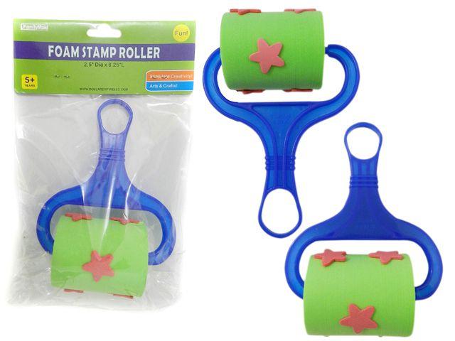 144 Units Of Roller Foam Star Stamp