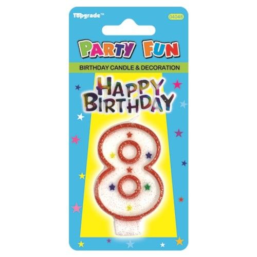 144 Units Of Birthday Candle Number EIght