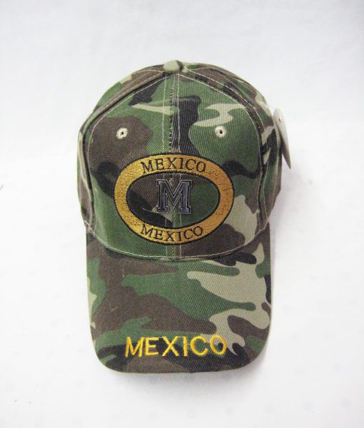 24 Units Of Camo Mexico Cap Baseball Caps Snap Backs At
