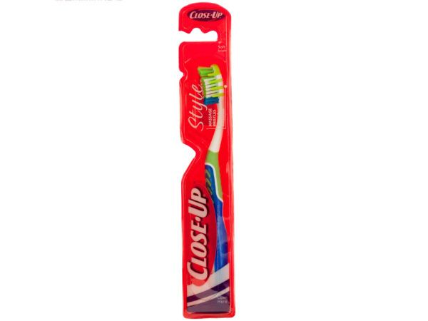 144 Units of Close-Up Style Soft Toothbrush with Massage Bristles - Toothbrushes