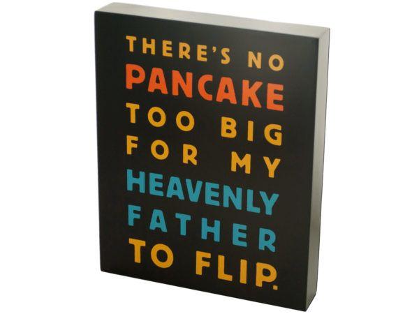 18 Units of No Pancake Too Big Box Print Wall Art - Home Decor