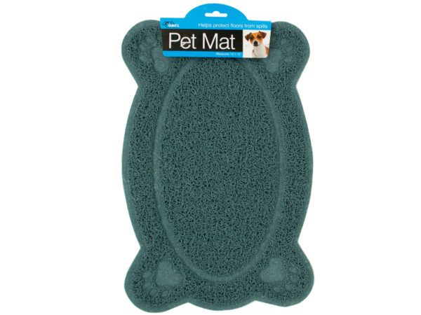 30 Units of Easy Clean Paw Print Pet Mat - PET ACCESSORIES