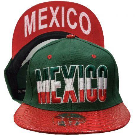 24 Units Of Mexicosnapback Caps Baseball Caps Snap Backs At