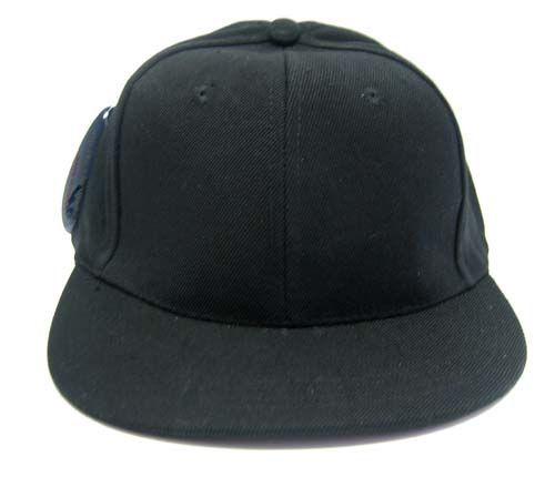 24 Units of Plain Black Fitted flat Bill Hat (Dozen) SIZE XL - Baseball Caps    Snap Backs - at - alltimetrading.com 07b15acecd1