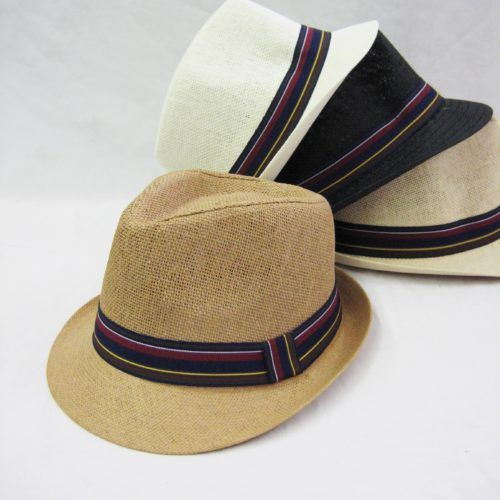 bb10a9ed7 36 Units of Straw Fedora Hat - Fedoras, Driver Caps & Visor