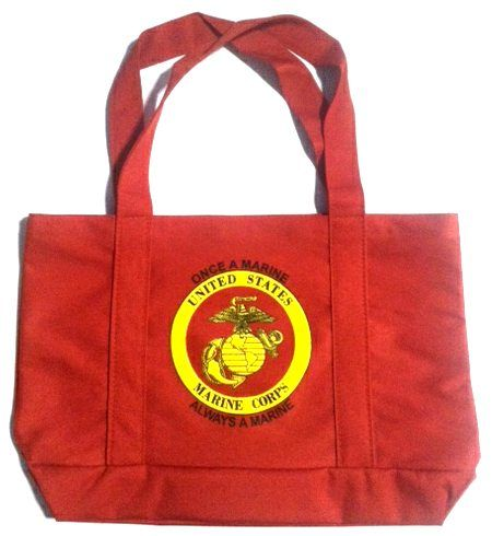 12 Units of Marines Tote Bag - Tote Bags & Slings