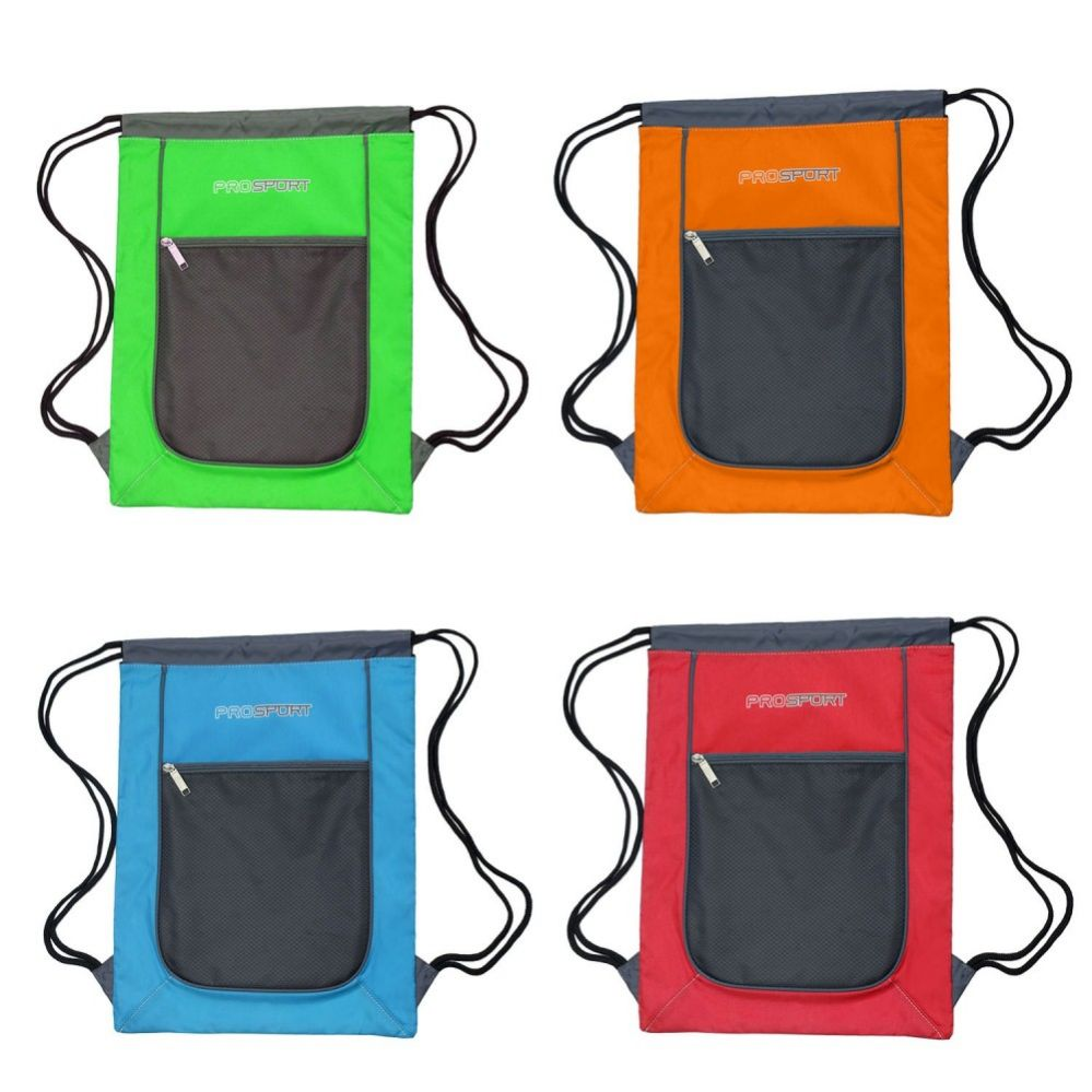 f5a18c3d82 24 Units of Drawstring Bags in 4 Assorted Colors - Draw String   Sling  Packs - at - alltimetrading.com