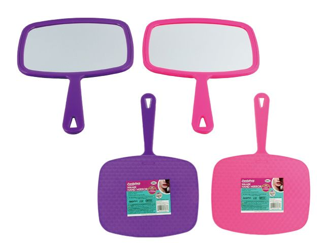 72 Units of Hand Mirror With Handle - Mirrors