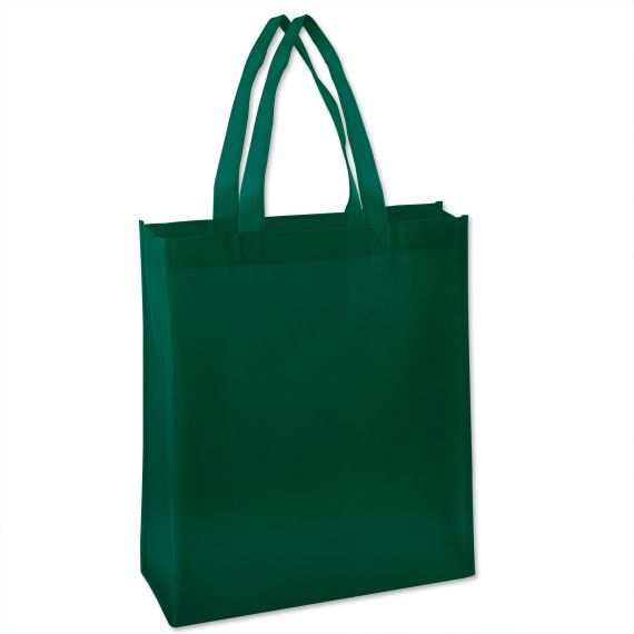 100 Units of 15 Inch Grocery Tote Bag - Green Color Only - Tote Bags & Slings