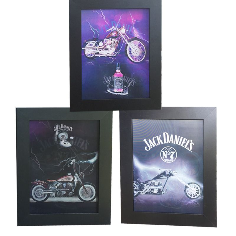 12 Units of Jack D's &Motor - Picture Frames