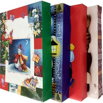 48 Units Of Christmas Gift Boxes Gift Bags