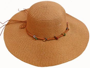 a51e189923d38a 24 Units of Ladies' Hat With Tie - Sun Hats - at - alltimetrading.com
