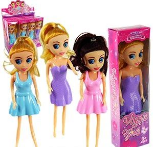 120 Units of Cathay Collection Vogue Girl Mini Dolls - Dolls