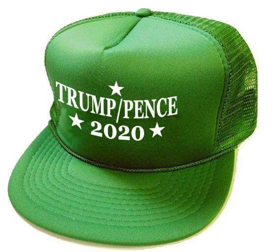 24 Units of 2020 Trump Pence Mesh Hats - kelly green - Baseball Caps   Snap  Backs - at - alltimetrading.com 4bce59b5bc4