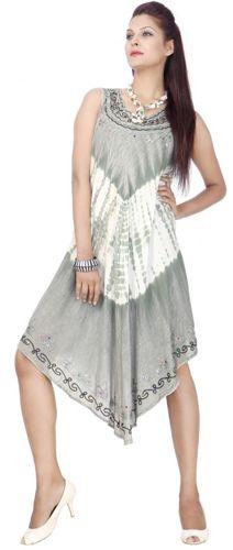 24 Units of Wholesale Plus Size Acid Wash Design Rayon Dresses - Womens  Sundresses & Fashion
