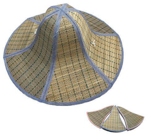 36 Units of Foldable Straw Hat 18 Inches - Sun Hats - at -  alltimetrading.com f31ca2f9937