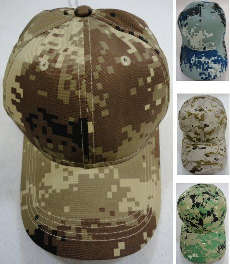 36 Units of Digital Camo Ball Cap Assortment - Baseball Caps   Snap Backs -  at - alltimetrading.com ec5d4078e3f