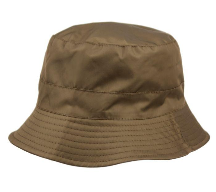 c88805361ec 12 Units of WATERPROOF PACKABLE RAIN BUCKET HATS WITH  ZIPPER CLOSURE IN  DARK OLIVE - Bucket Hats - at - alltimetrading.com