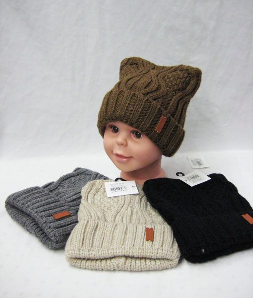 a2f3fe5977dc4c 36 Units of Kids Fashion Winter Hat Assorted Colors - Junior / Kids Winter  Hats - at - alltimetrading.com