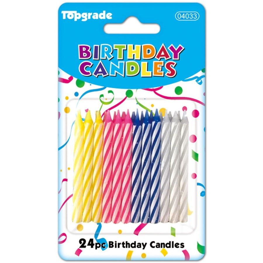144 Units Of Twenty Four Count Birthday Candle