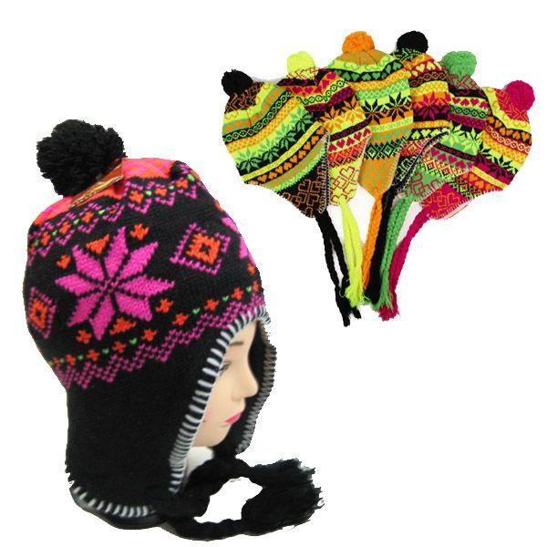 d1b0f72ff9e 36 Units of Neon Design Winter Hat in Assorted Colors - Winter Hats - at -  alltimetrading.com