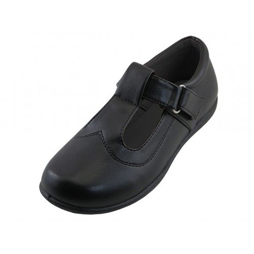 Black School Shoe - Girls Shoes