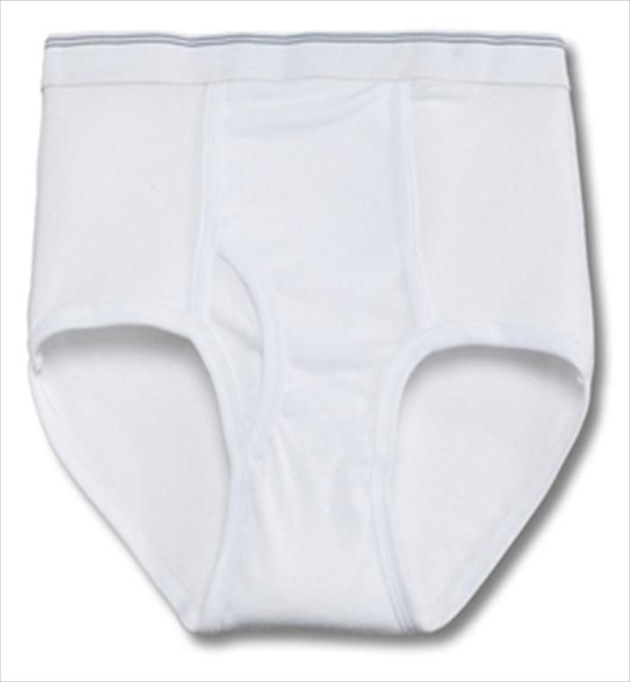 0caf38932fd6 36 Units of Men's 12 Pack White Cotton Brief, Size Large - Mens Underwear -  at - alltimetrading.com