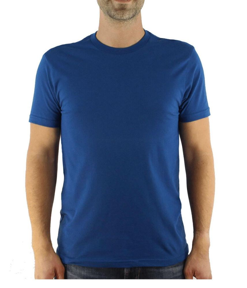 3e4c2ecea988 6 Units of Mens Cotton Crew Neck Short Sleeve T-Shirts Royal Blue Color  Bulk Pack Value Deal (6, Large) - Mens T-Shirts - at - alltimetrading.com