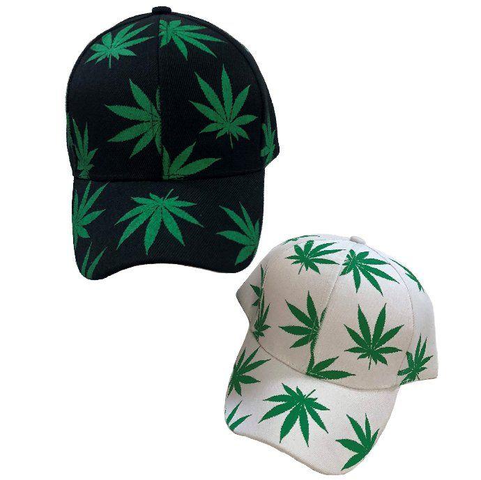 01b740aa480b5 36 Units of Screen Print Marijuana Ball Cap - Baseball Caps   Snap Backs -  at - alltimetrading.com