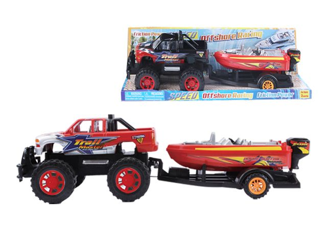 12 Units Of Friction Towing Truck W  Boat 20 U0026quot