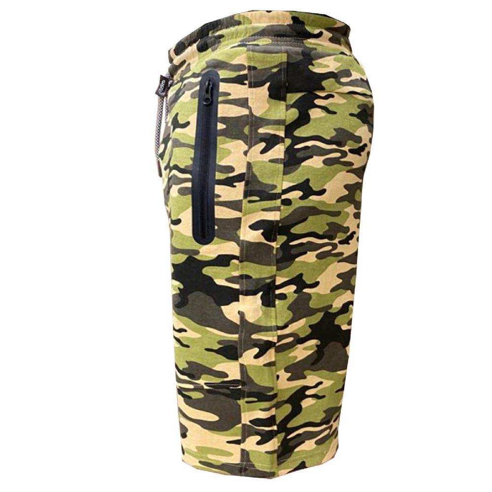 24 Units Of Men S Tech Jogger Shorts With Zipper Side Pockets S 2xl Camo Mens Shorts At Alltimetrading Com