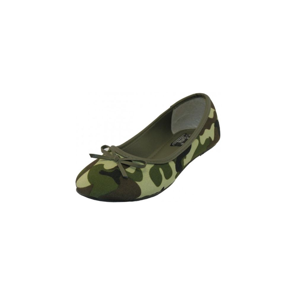 77e471b089d8 18 Units of Women's Camouflage Ballet Flats (Green Color Only) - Women's  Flats - at - alltimetrading.com