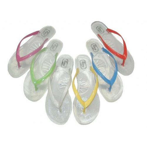 c28dbe314f6 36 Units of Ladie s Clear Jelly Thong Size  5-10 - Women s Flip Flops - at  - alltimetrading.com