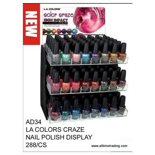288 Units of LA Color Craze Nail Polish Display - Nail Polish - at ...