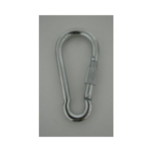 """100 Units of 4.75"""" Large Metal Mountaineer Clip-Screw Close"""