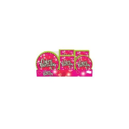 Birthday Love Pre-Packed Counter Shipper, 96 Ct. - Party Misc.