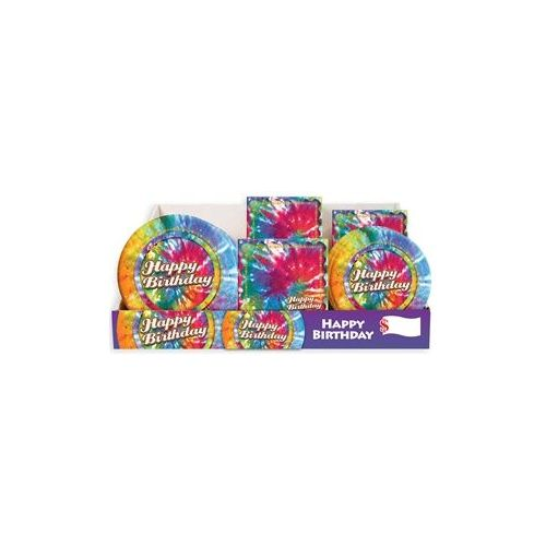 Tie Dye Pre-Packed Counter Shipper, 96 Ct.