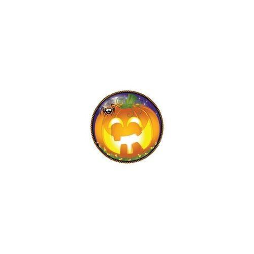 "72 Units of Pumpkin Grins 9"" Plate - 8CT. - Halloween & Thanksgiving"