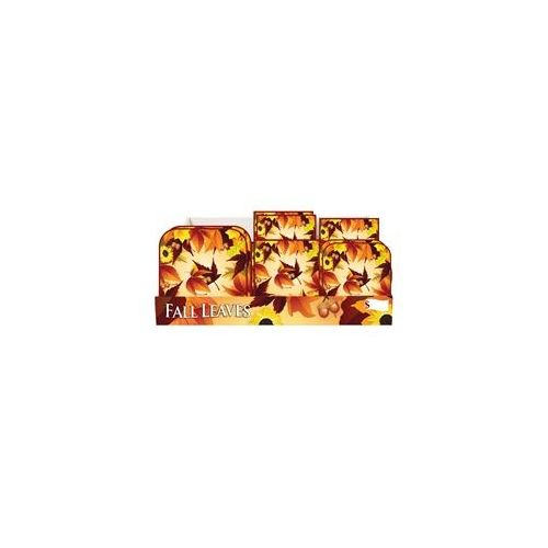 Fall Leaves Pre-Packed Counter Shipper, 96 Ct.