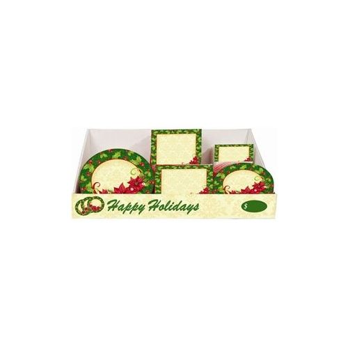 Poinsettia Pre-Packed Counter Shipper, 96 Ct.
