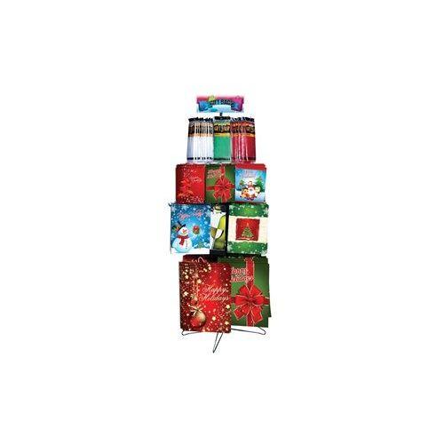 Christmas Gift Bags & Tissue Floor Shipper 162 Ct. - Christmas Gift Bags