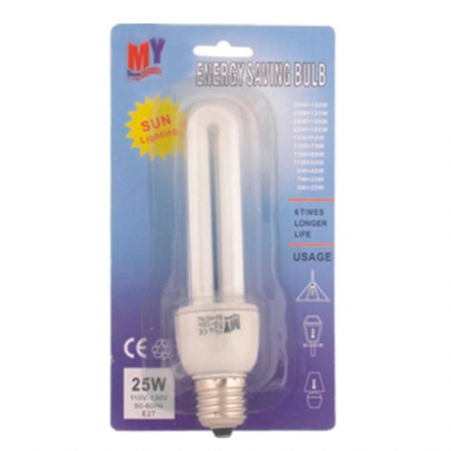 100 Units of Energy Saving Lightbulb 25W