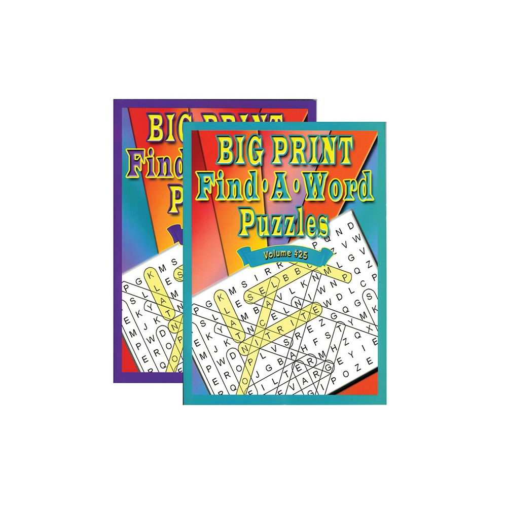 48 Units of Big Print Find-A-Word Puzzles Book - at - alltimetrading ...