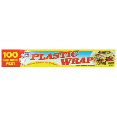 48 Units of PLASTIC WRAP 100 SQUARE FEET - Store