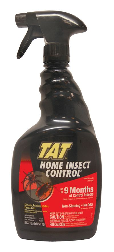 12 Units of TAT HOME INSECT CONTROL 32 OZ UP TO 9 MONTHS OF CONTROL INDOORS - Pest Control